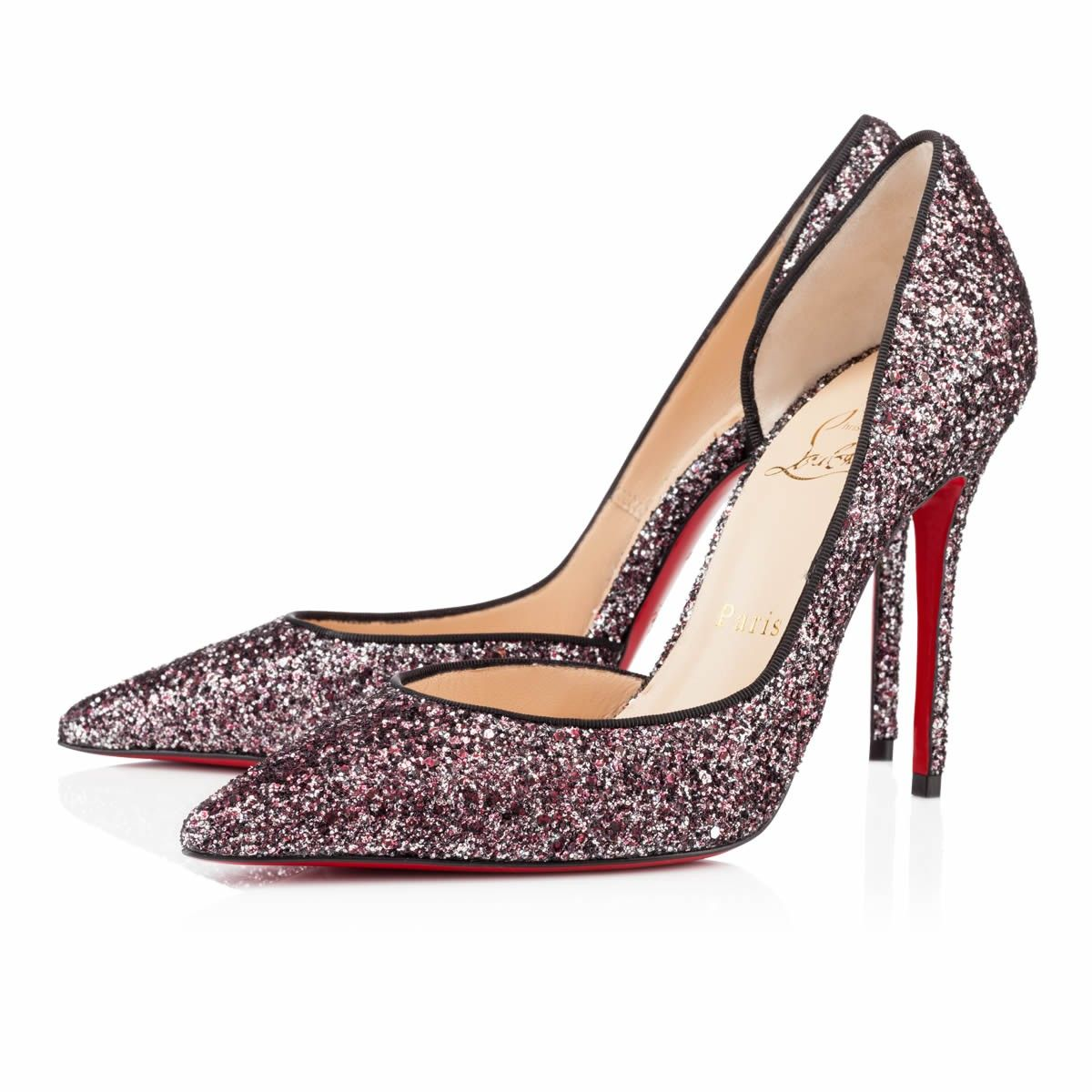 75bd721309a Christian Louboutin Iriza 100mm Special Occasion Rose Antique Outlet Store  Christian Louboutin Heels