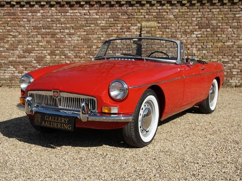 1964 Mg B Roadster Old Fashioned Cars Vintage Auto Clic Sports