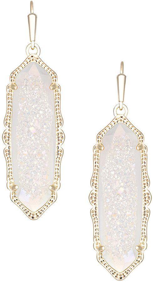 Kendra scott fran drusy drop earrings jewelry for Kendra scott fine jewelry