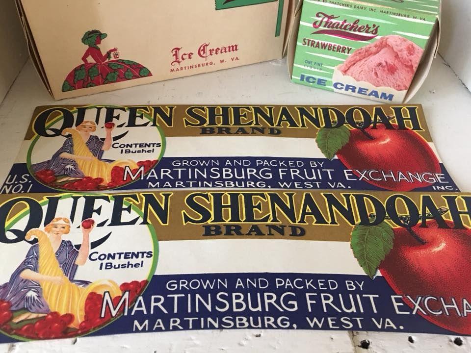 Martinsburg West Virginia Martinsburg Fruit Exchange Label Martinsburg West Virginia Martinsburg West Virginia West Va