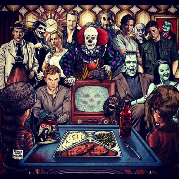 halloween #collage #lol #scary #horror #movie #characters ...