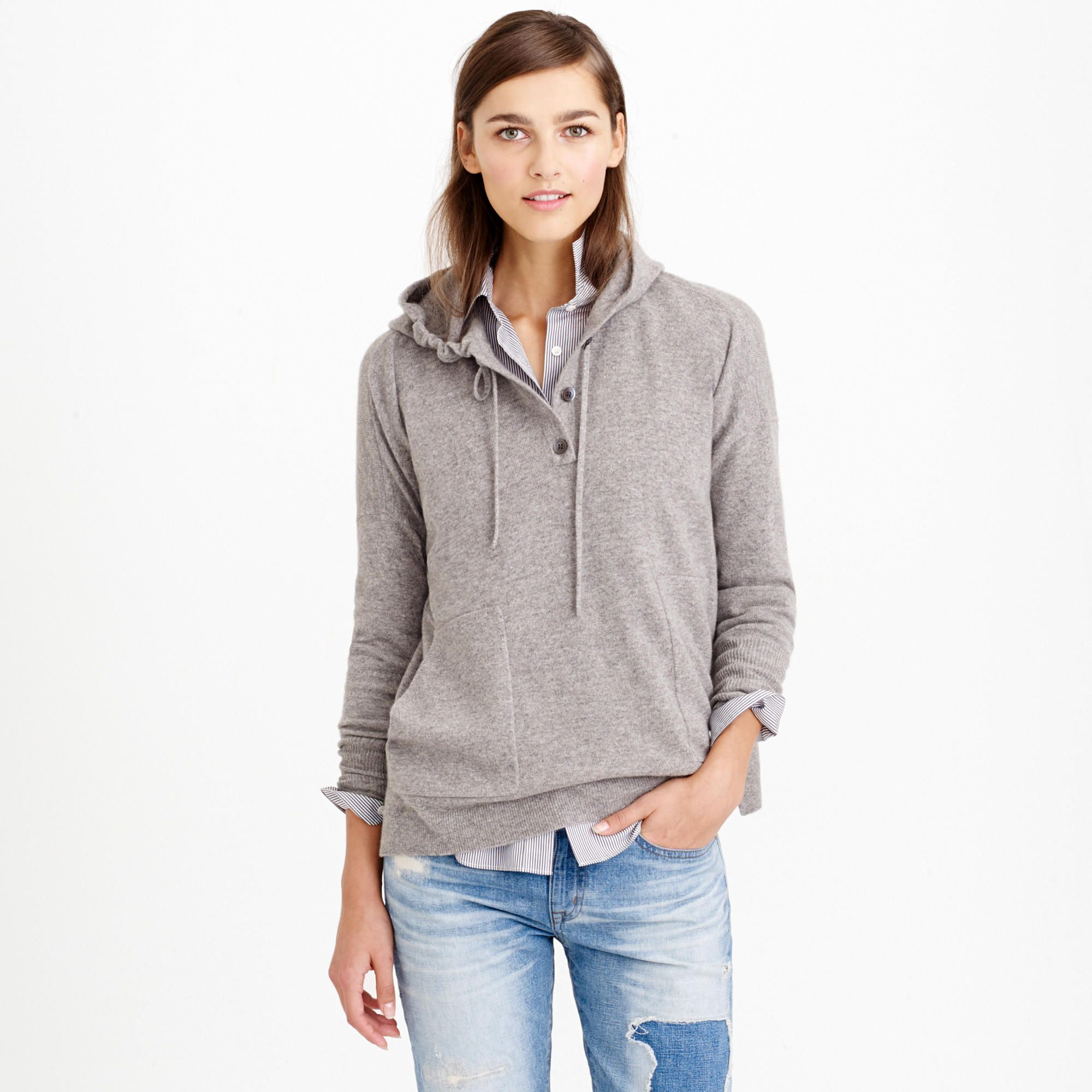 Collection cashmere patch-pocket hoodie | 01. Pretty people ...