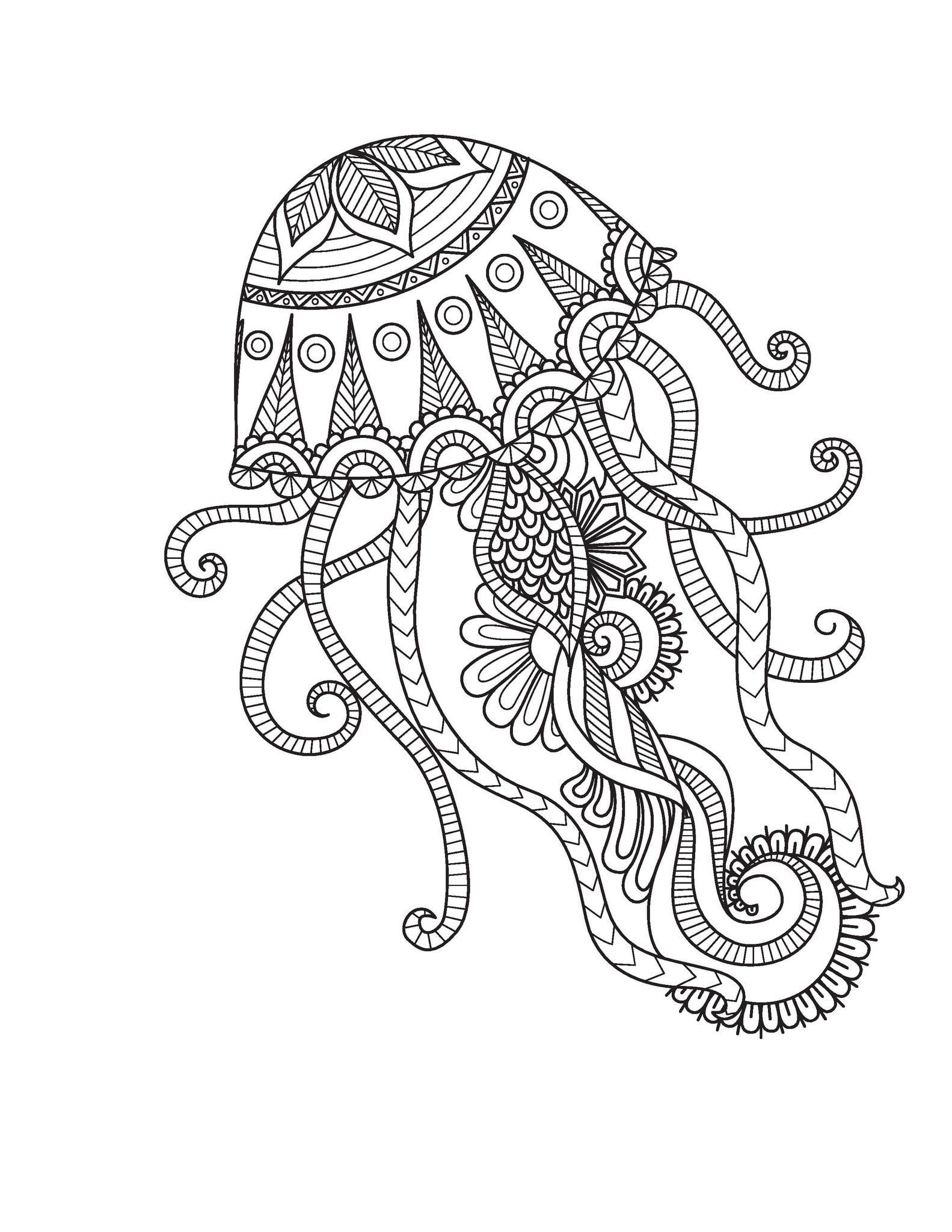 Medium Designs For Adults Who Color Live Your Life In Color Series Mandala Coloring Pages Mandala Coloring Animal Coloring Pages