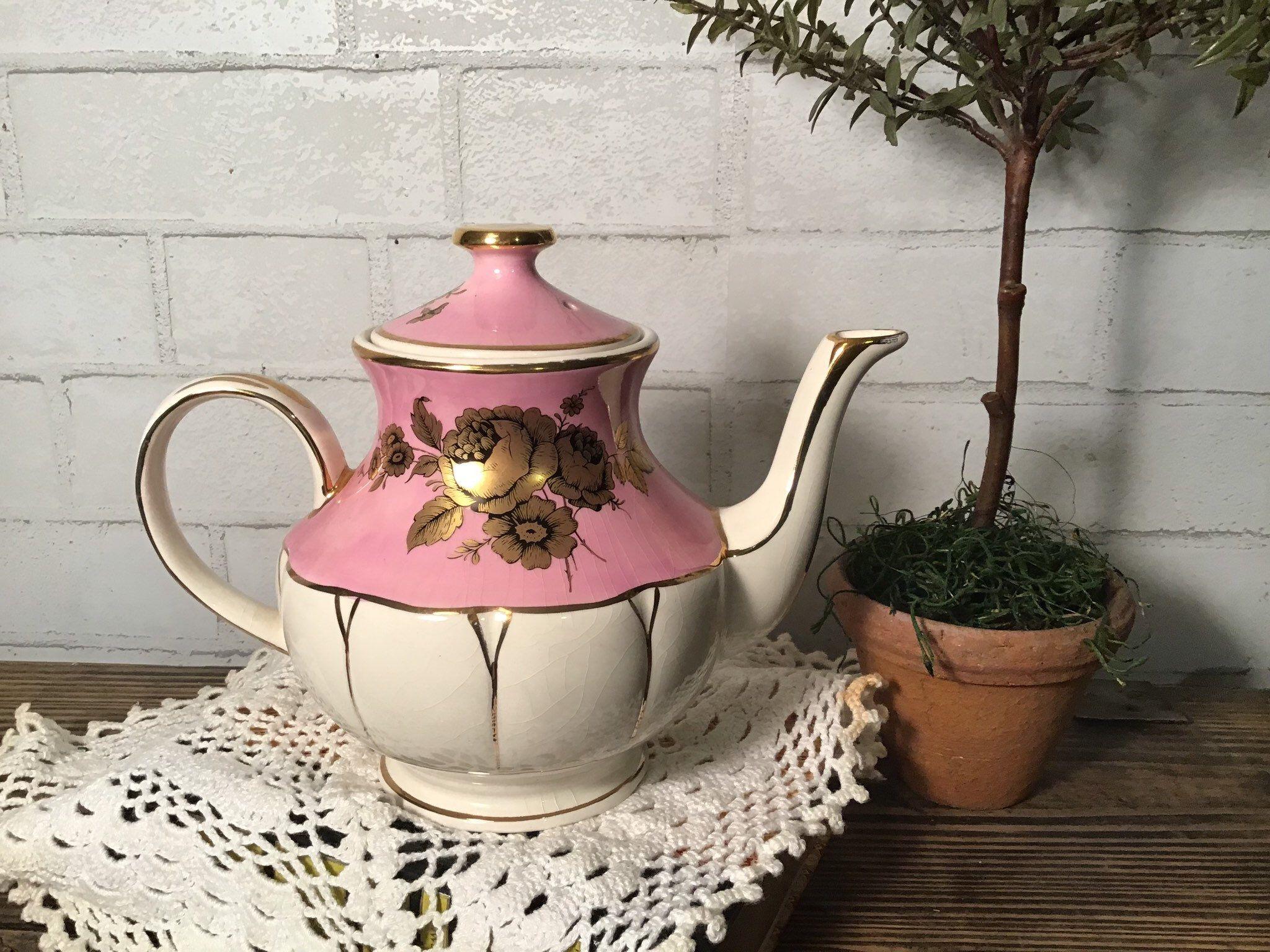 Arthur Wood Teapot Etsy Wood Teapot Tea Pots Vintage Tea Pots