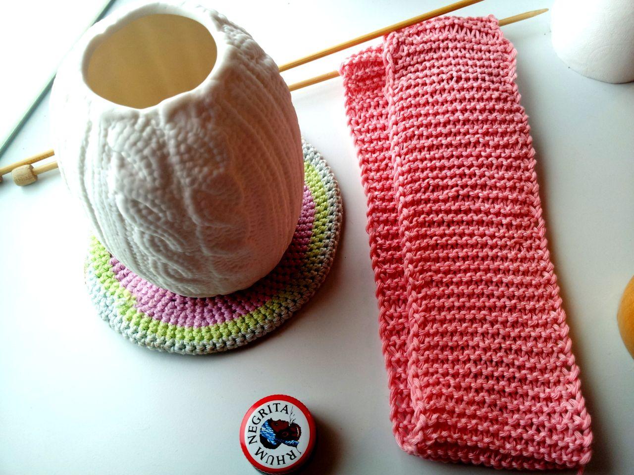 #knitting #pink #scarf