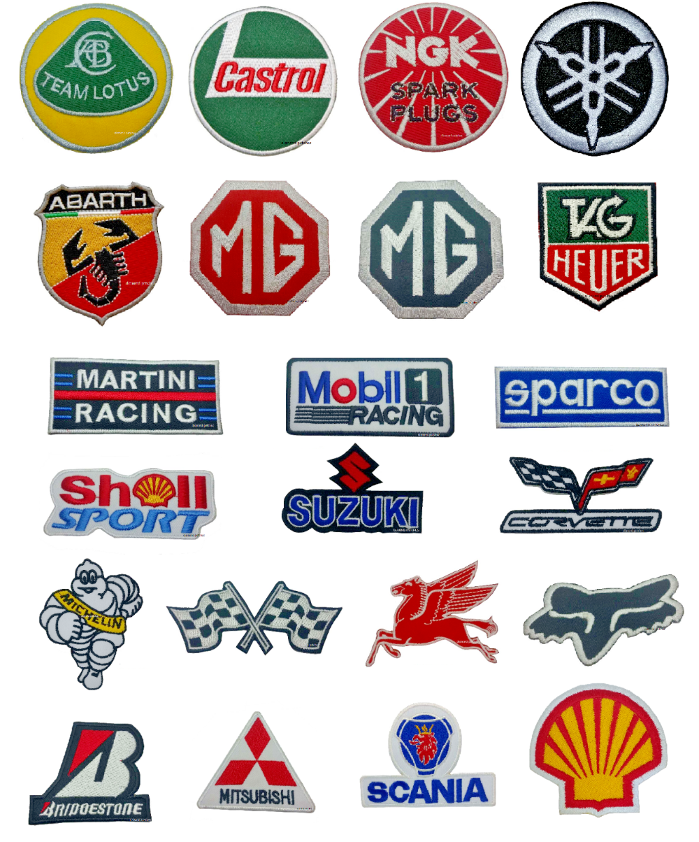 Detalles de F1 Formula One RACE SPONSOR Patches IronOn
