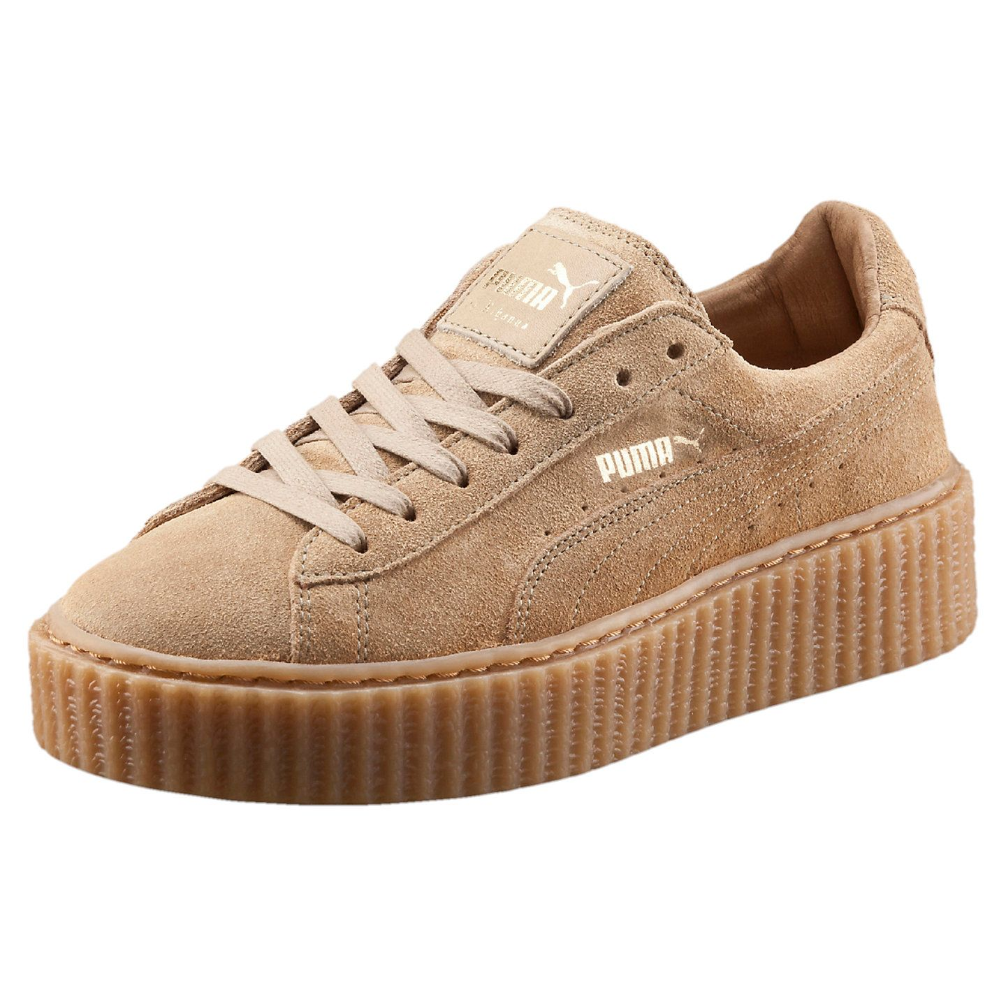 promo code 0b3d0 1f970 PUMA BY RIHANNA WOMEN'S OATMEAL CREEPERS - US | SHOES | Puma ...
