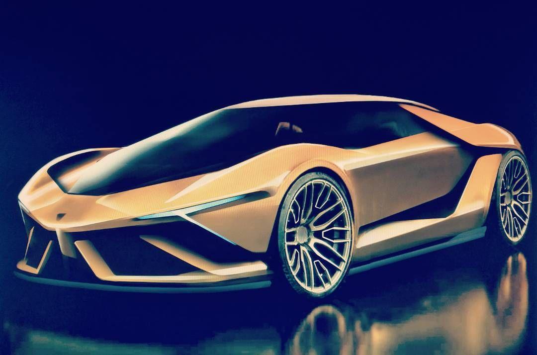 Lamborghini Sketch Design Lamborghini Concept Art Arte