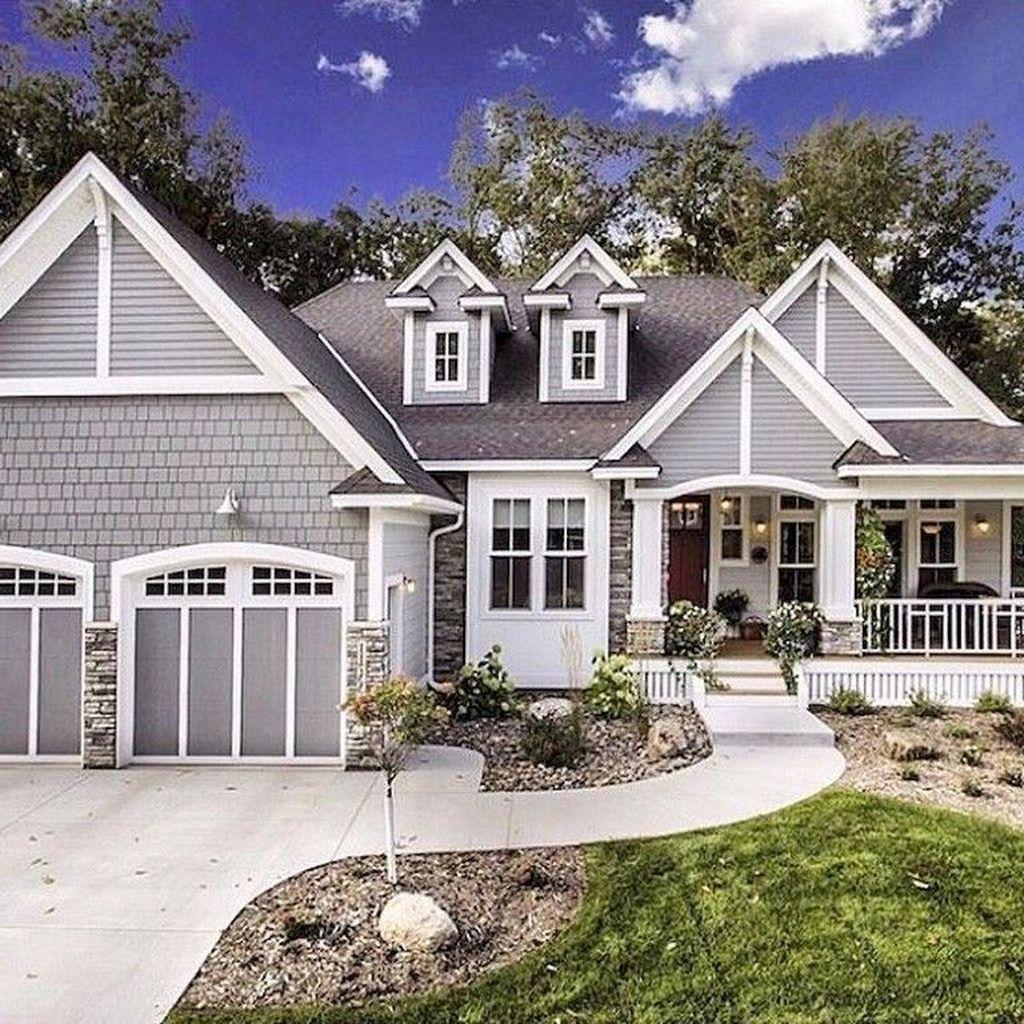 Modern Home Exterior Design Ideas 2017: 30+ Cozy Farmhouse Exterior Design Ideas That Looks Cool