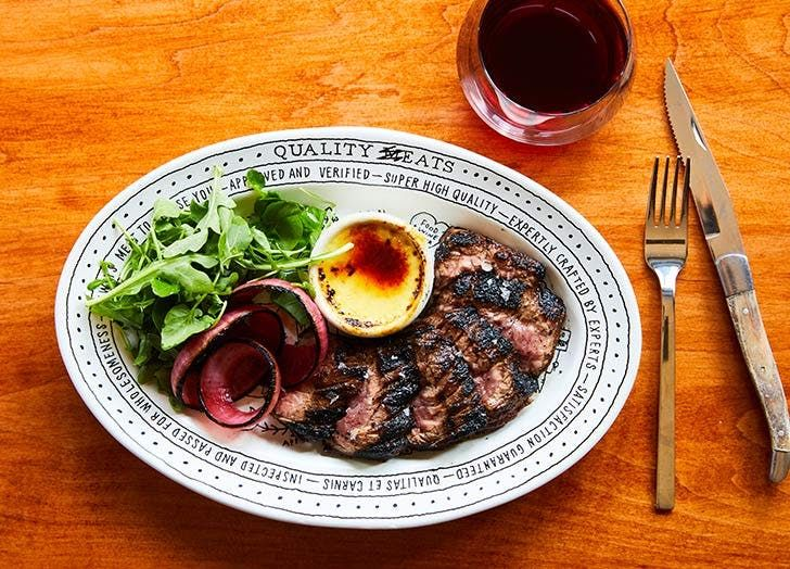 The 7 Best Steak Houses in NYC #purewow #food #restaurants