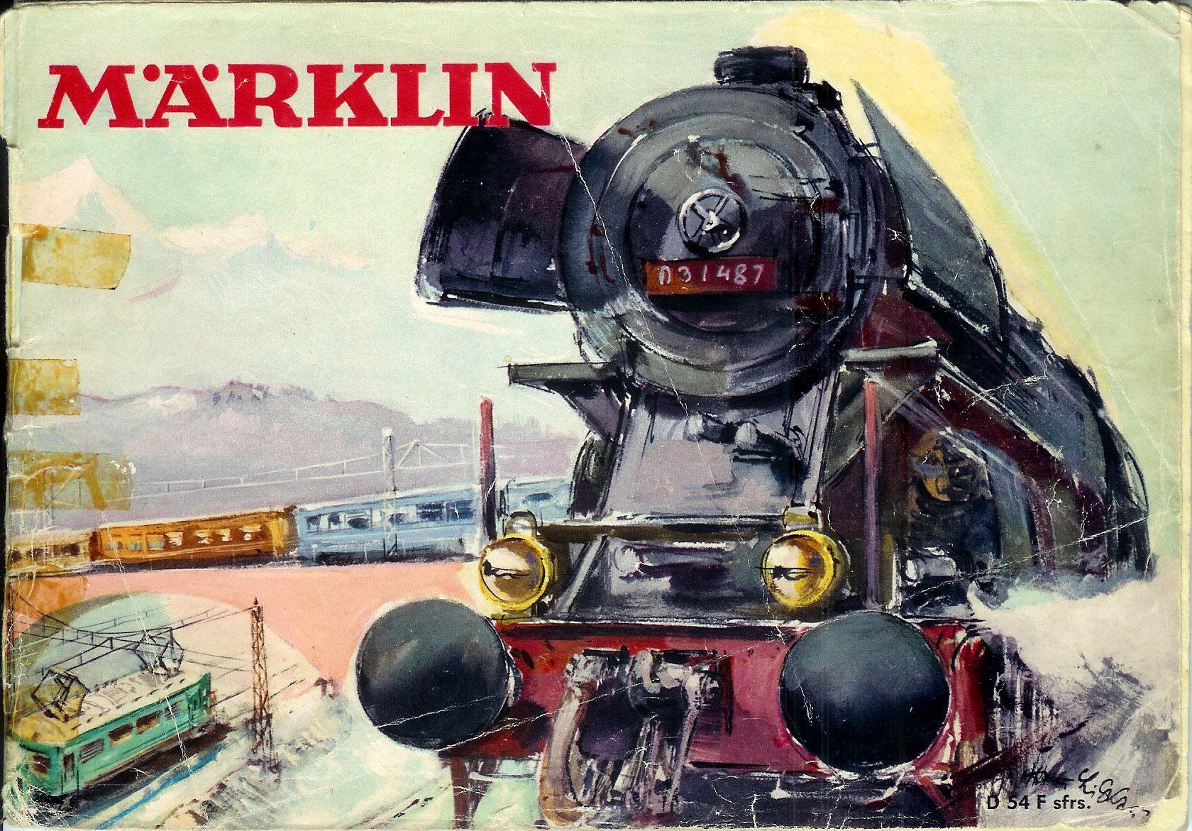 Marklin catalogue 1954