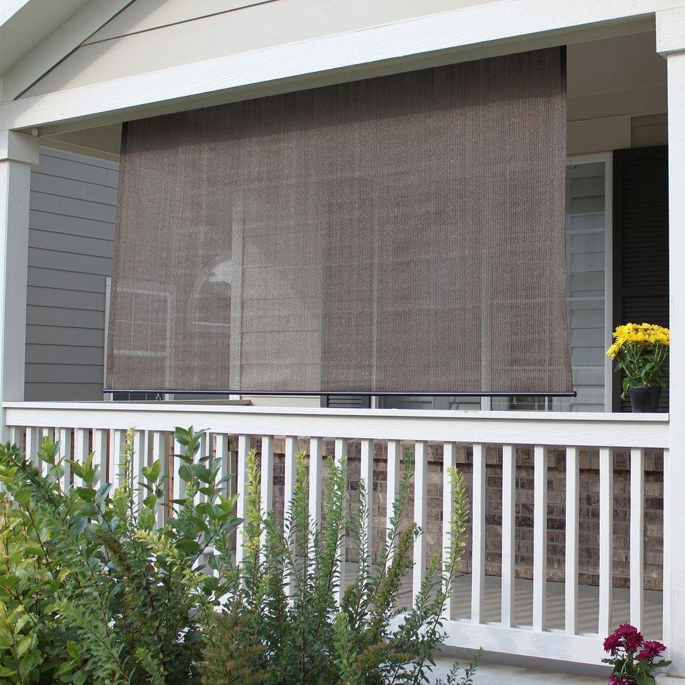 Roll Up Shade Outdoor Window Patio Blind Exterior Sun Deck Porch Roller Shades Home Garden Window Treatments Ha Patio Blinds Wooden Window Blinds Blinds