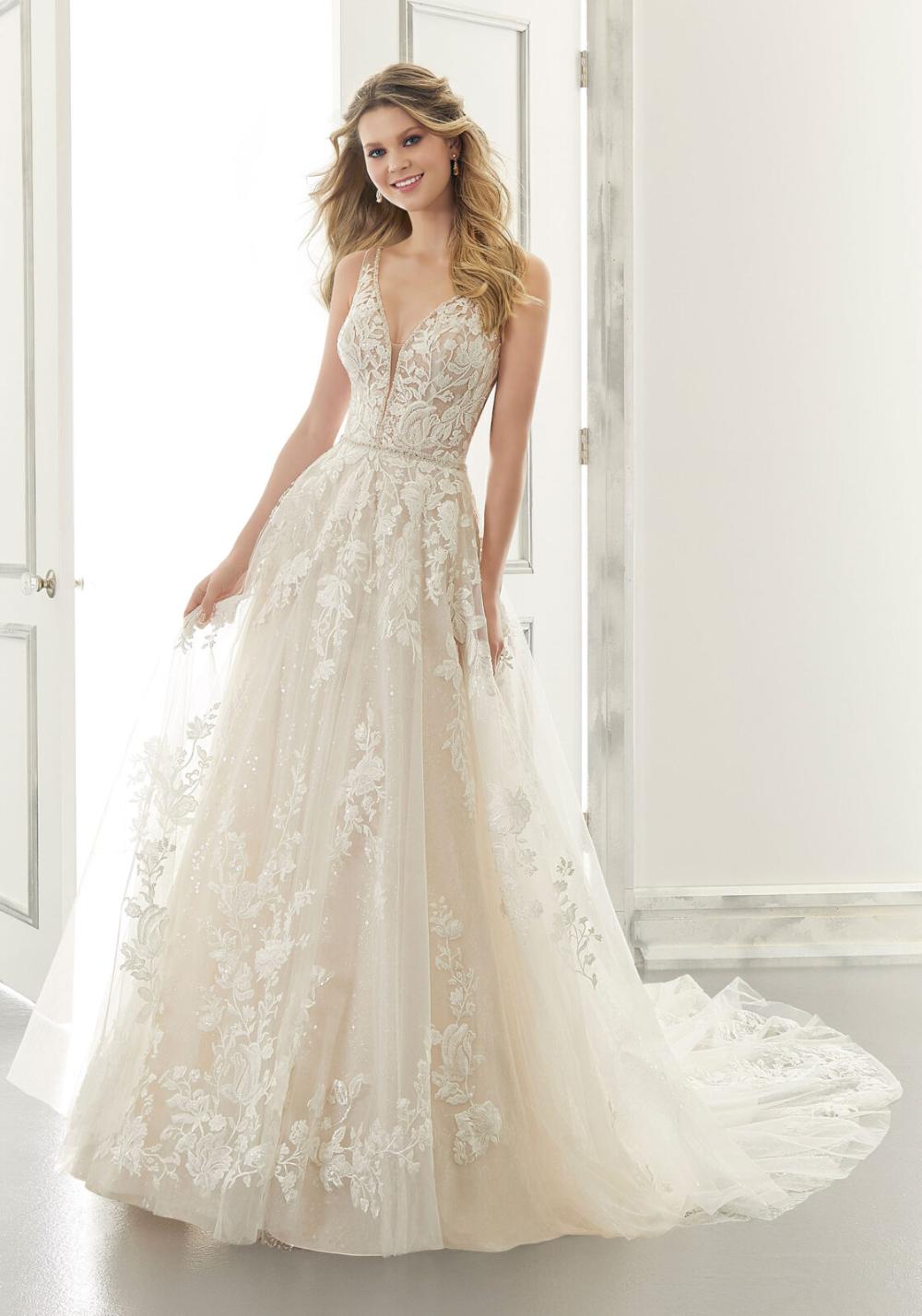 Ana Wedding Dress Morilee In 2020 Wedding Dress Prices A Line Wedding Dress Wedding Dresses