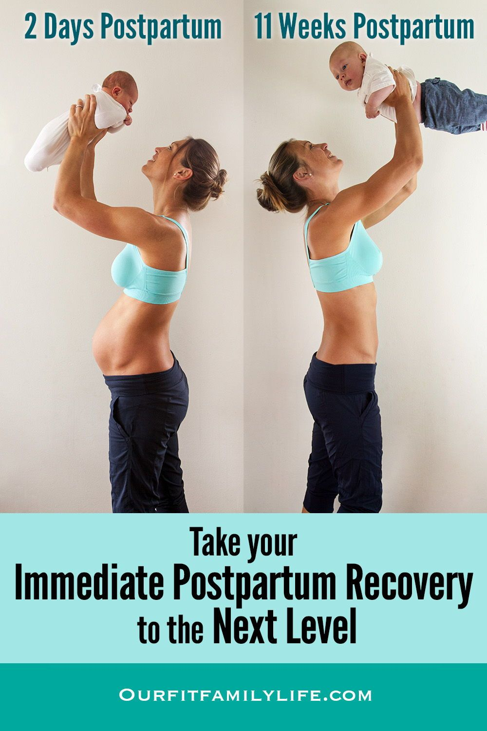 From Birth To 8 Weeks Postparum Safely Begin The Healing Process And Expedite Your Recovery In Post Partum Workout Postnatal Workout Diastasis Recti Exercises