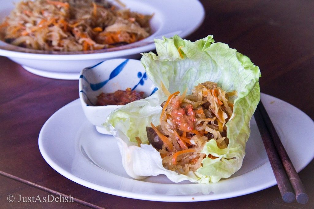 Jiu hu char jicama and cuttlefish stir fry with lettuce wrap jiu hu char jicama and cuttlefish stir fry with lettuce wrap healthy malaysian food blog food recipes forumfinder Images