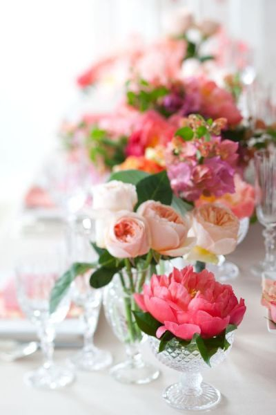 Pink Wedding Inspiration By Cynthia Martyn Events Wedding Centerpieces Wedding Flowers Pink Wedding Inspiration