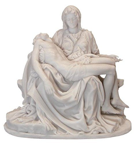 10 Michelangelos The Pieta Antique Replica Statue Resin Marble Continue To The Product At The Image Link Pieta Statue Statue Michelangelo Pieta