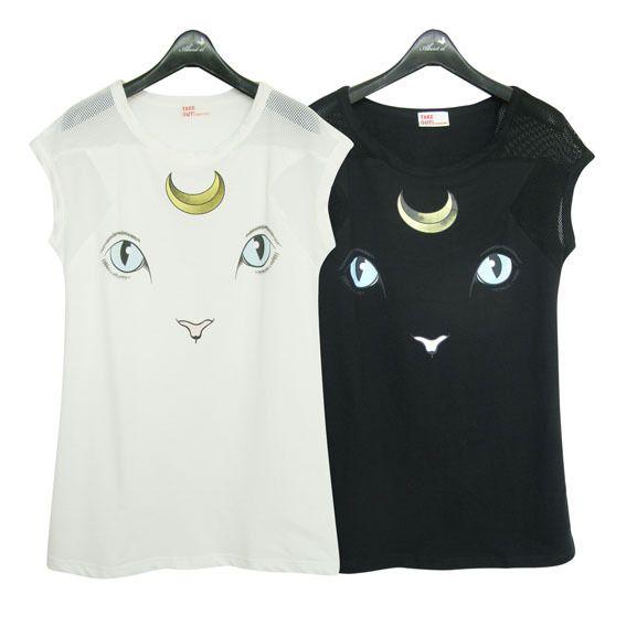 Sailormoon luna shirt
