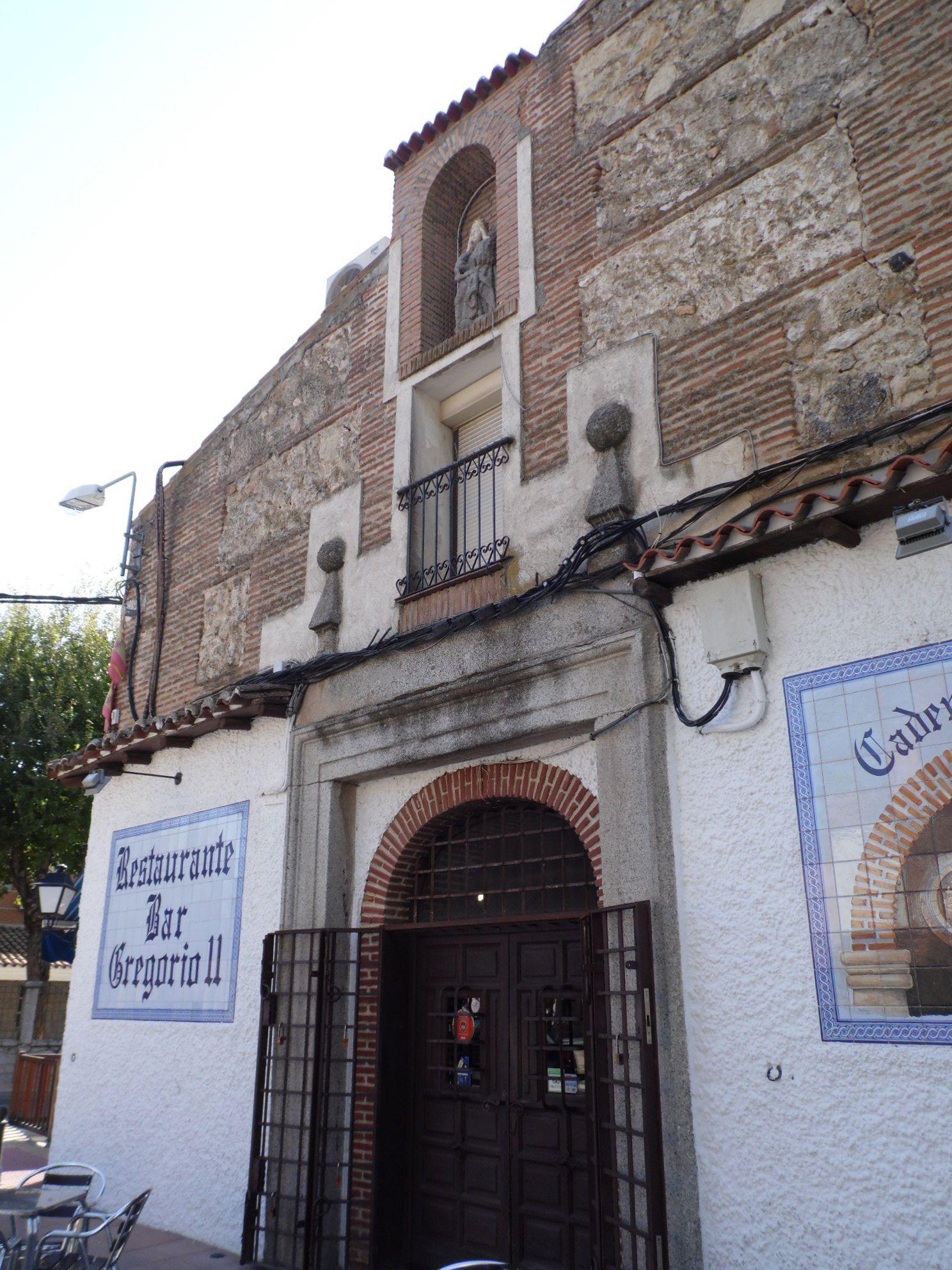"""CAMARENA (TOLEDO) - Convento de la Concepción (Fachada Principal). Hoy Restaurante """"Gregorio II""""."""