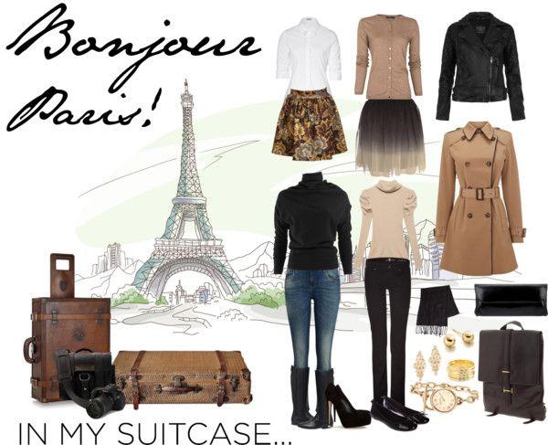 """Weekend In Paris, France"" by angela-windsor on Polyvore"