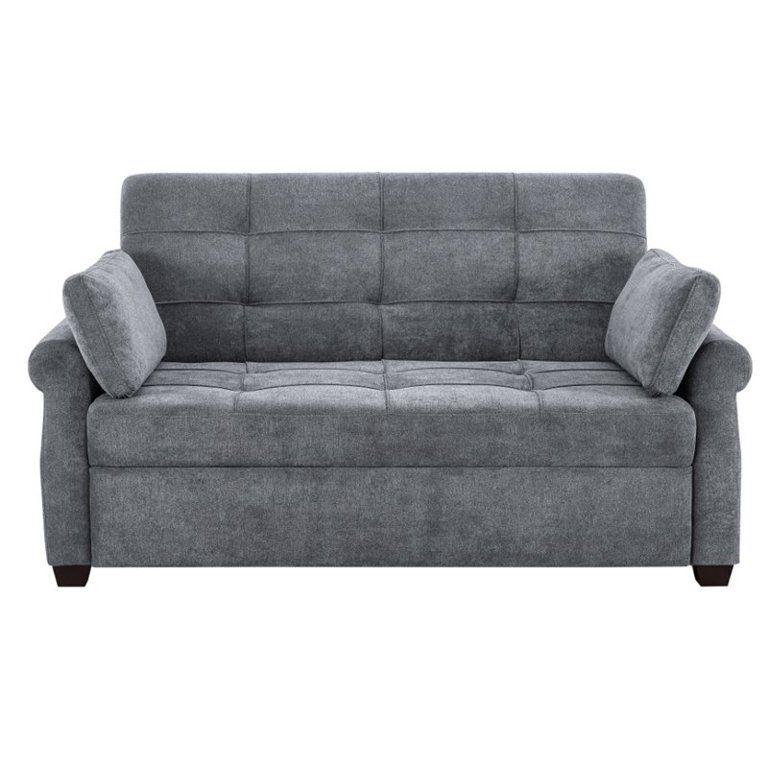 Serta Haiden Queen Sofa Bed Gray Walmart Com In 2020 Convertible Sofa Bed Convertible Sofa Queen Size Sofa