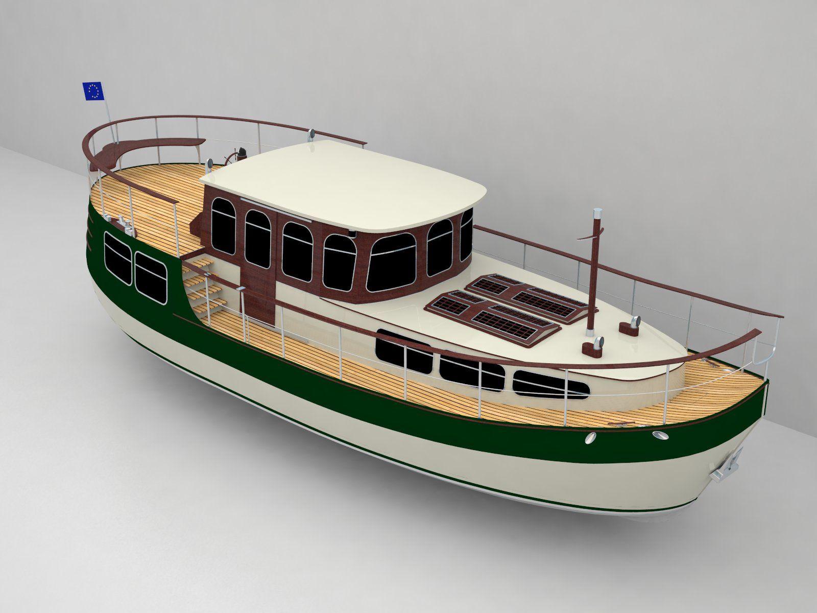 Scale model boat