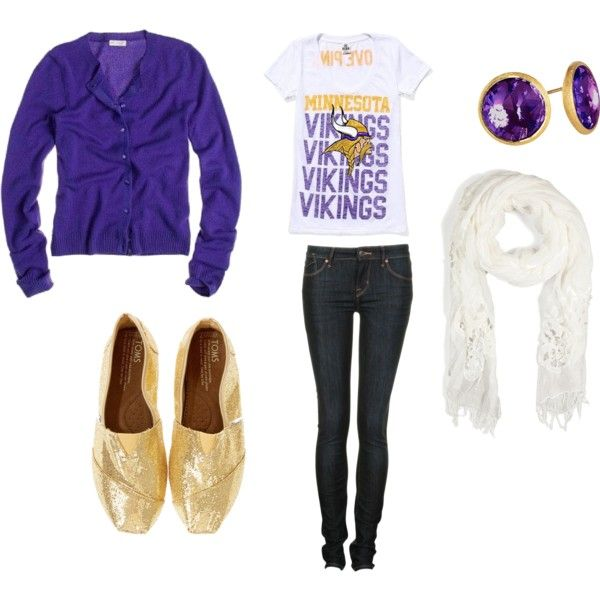 One Of My Many Minnesota Vikings Game Day Outfit