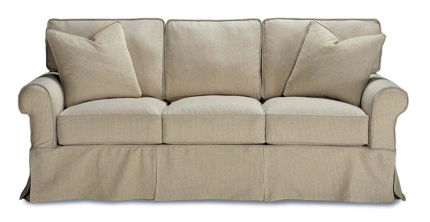 Buy And Save Your Rowe Furniture Cabin 3 Seat T Cushion Sofa W Pillows (row
