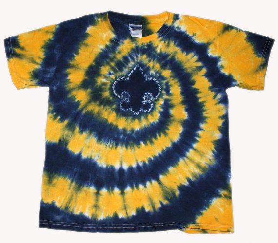 tye dye scout shirt