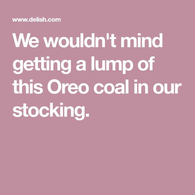 Oreo Coal