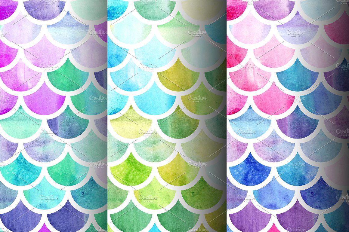 Watercolor Moroccan Patterns Moroccan pattern
