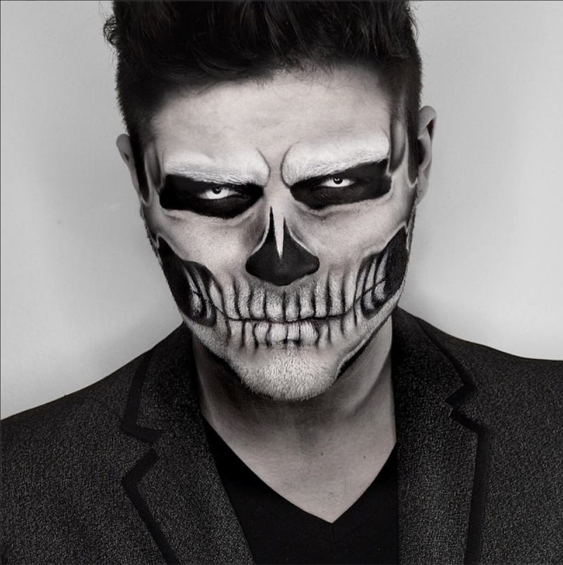 21 Halloween Makeup Ideas For Men Halloween makeup
