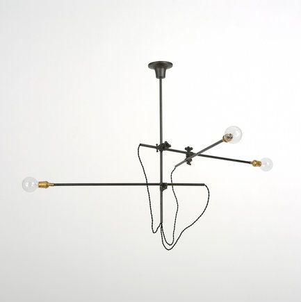 3 Arm Industrial Chandelier by Workstead