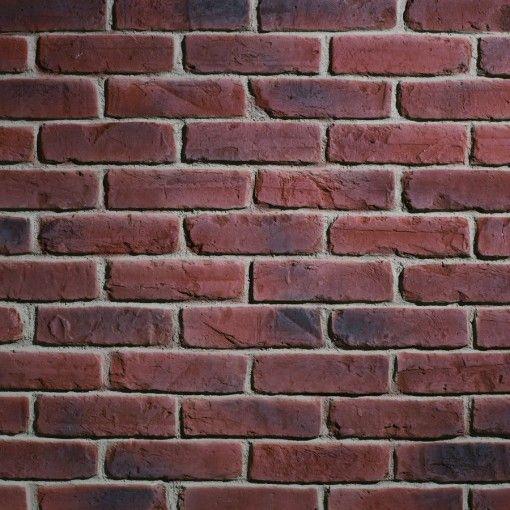 TrikBrik HW TRIKBRIK Aged Red Brick Cladding Composite - Aged brick veneer