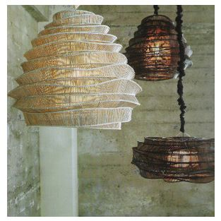 Bamboo cloud chandelier id never have guessed these light bamboo cloud chandelier id never have guessed these light fixtures were made of aloadofball Choice Image