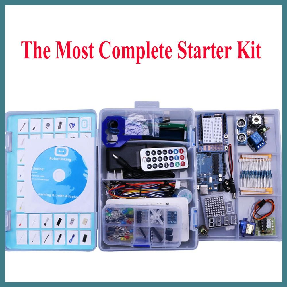 UNO Project Complete Starter DIY Kit for Arduino Mega2560 with Tutorial//P.Supply