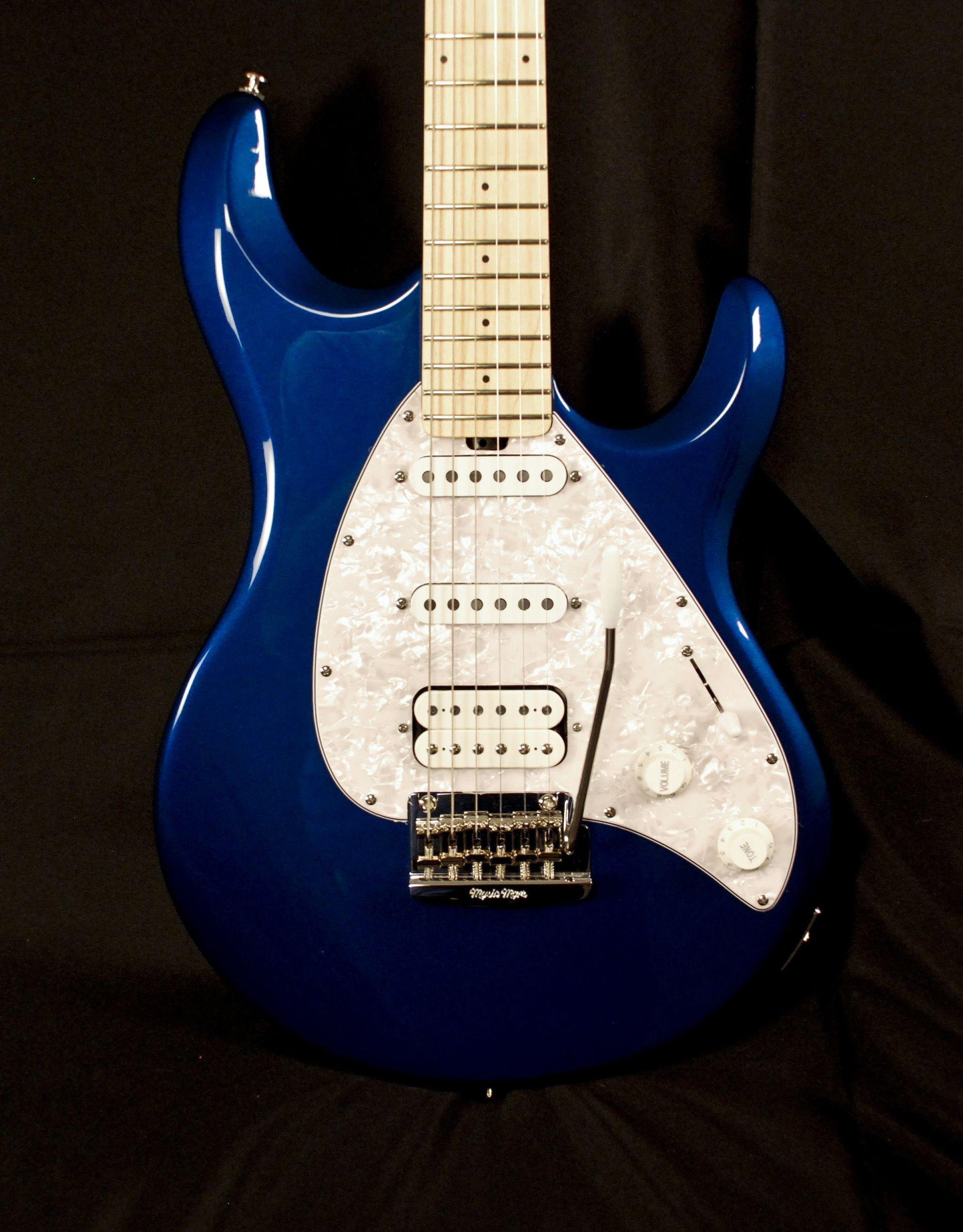 Ernie Ball Music Man Silhouette Special Blue Electric Guitar Electric Guitar Guitar Blue Electric Guitar