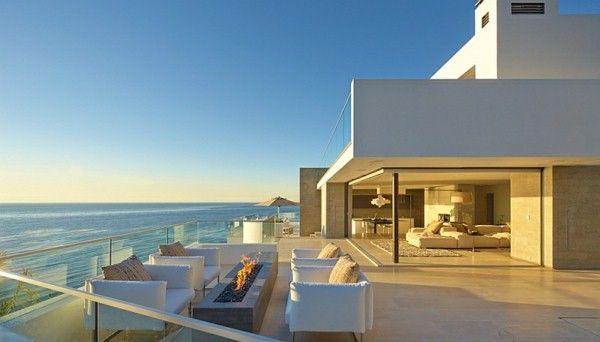 maison de rêve avec une architecture idée fantastique terrasse ...