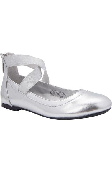 01107d3cb7958 Nina 'Alicia' Ankle Strap Ballet Flat (Little Kid & Big Kid) available at…