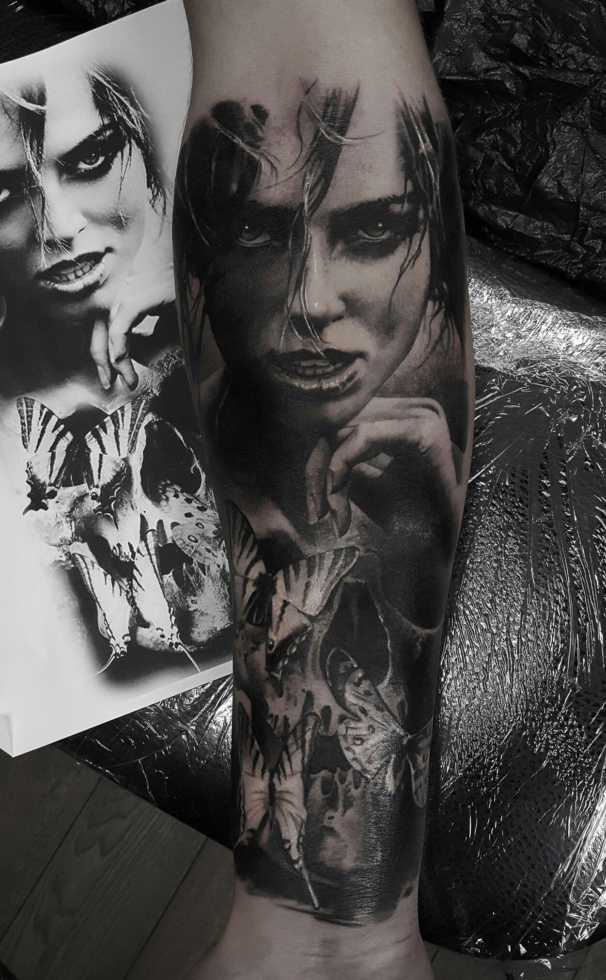 tattoo тату татуировки Художественная татуировка, (vk