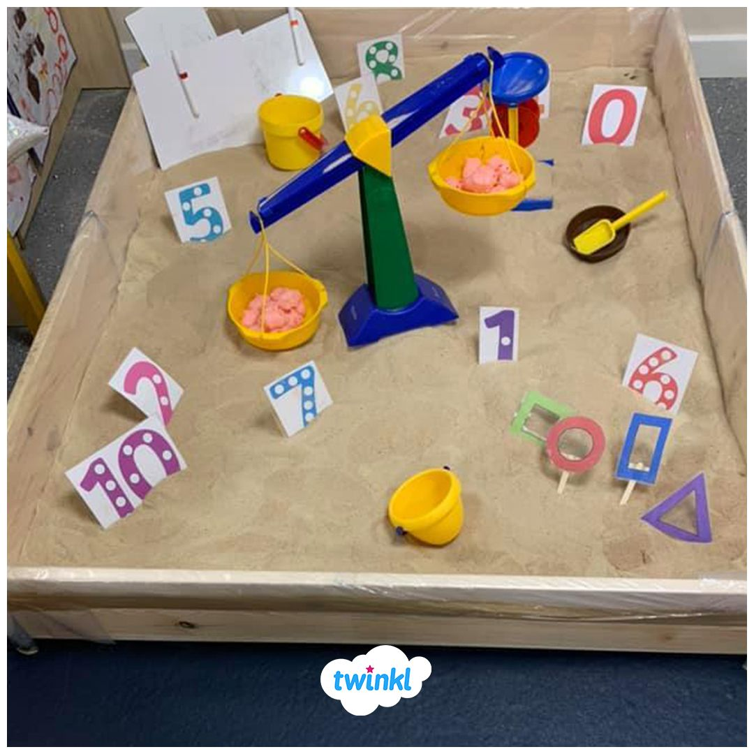 Brilliant Beach Themed Number Activity Where Children Can
