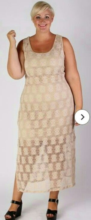 Society Plus crochet dress