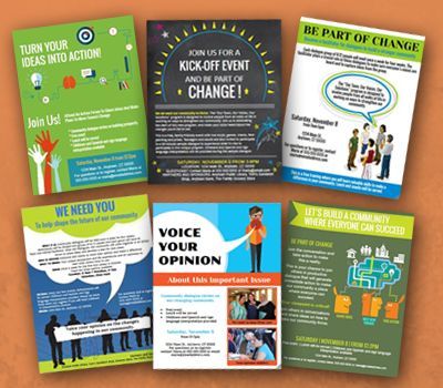 Flyer templates Latest in Public Engagement Flyer template