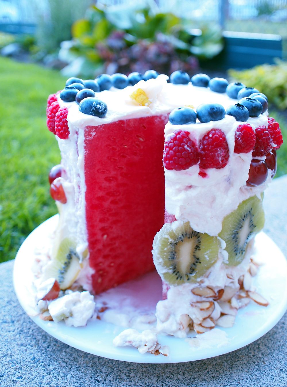 Watermelon Cake Watermelon cakes Homemade and Berry