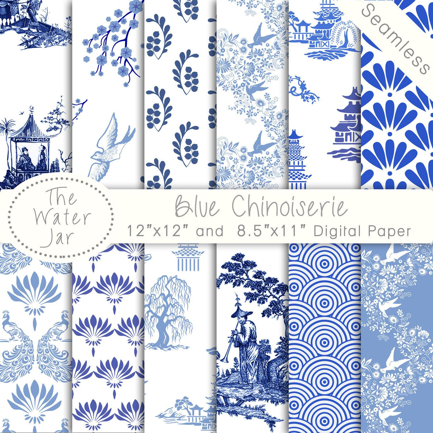 Pin By Stacy Theresa On Pattern Graphics Designs Blue And White Wallpaper Chinoiserie Wallpaper Chinese Patterns
