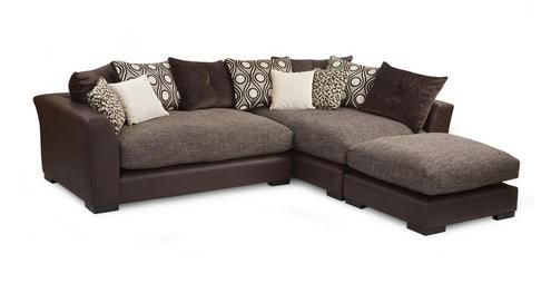 Sinan Option B Left Hand Facing Large 3 Piece Corner Sofa Dfs Ireland