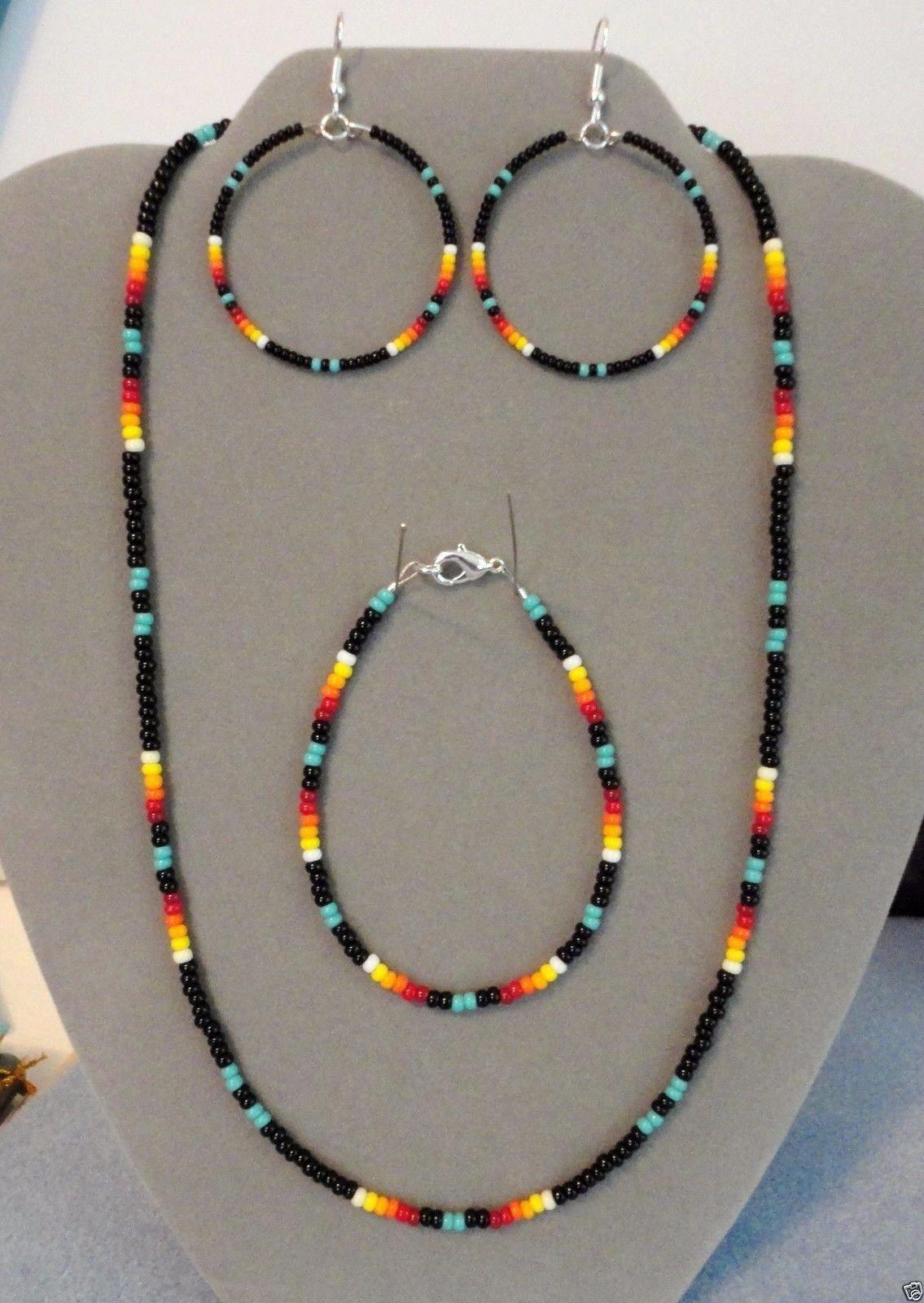 Dyi Jewelry Beadedjewelry Beaded Hoop Earrings Beaded