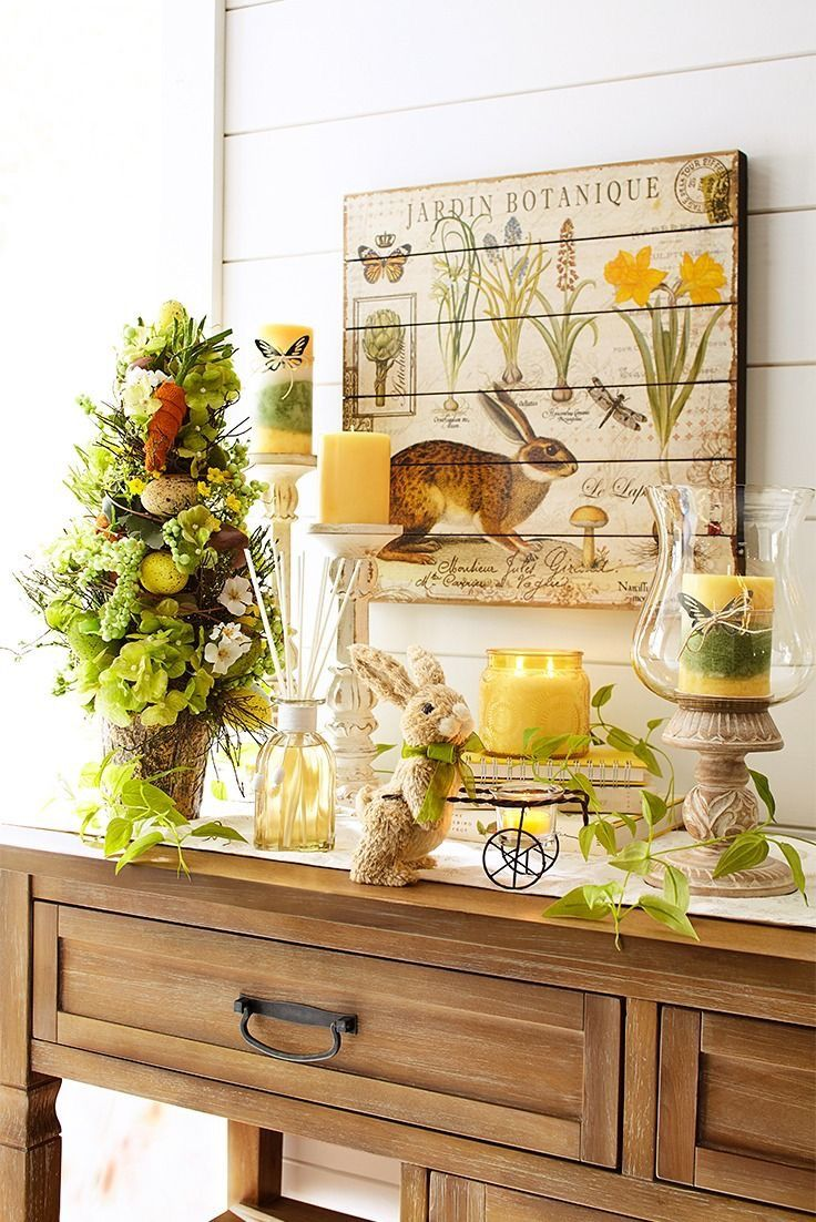 Pin By Linda Smith On Springtime Love Spring Easter Decor