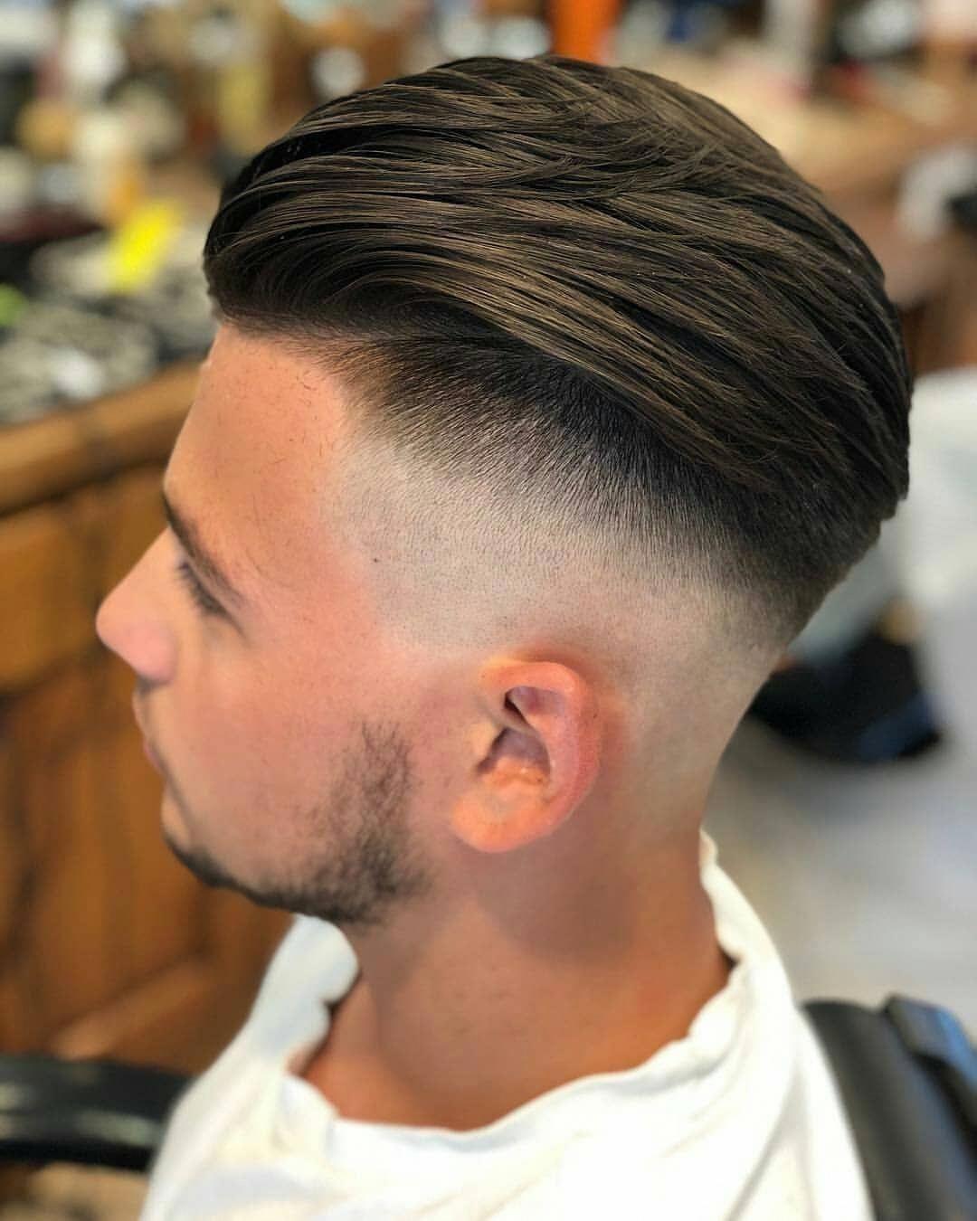 look at this coolmenshairstyles  medium fade haircut