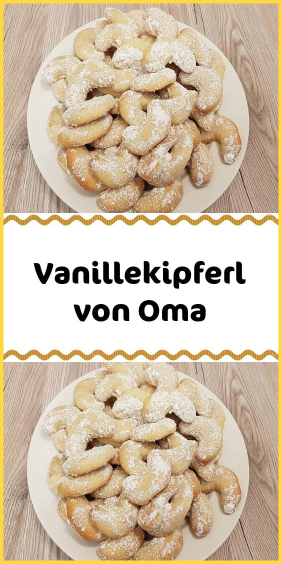 Vanillekipferl von Oma #kuchenkekse